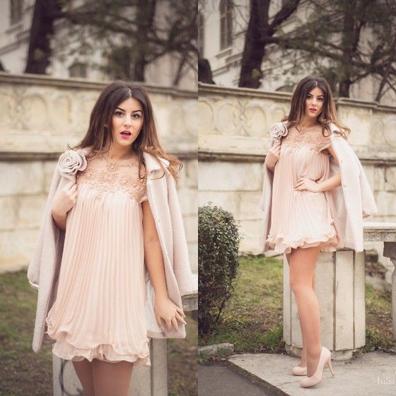 Nude Dress for Valentine's Day - Iulia Andrei