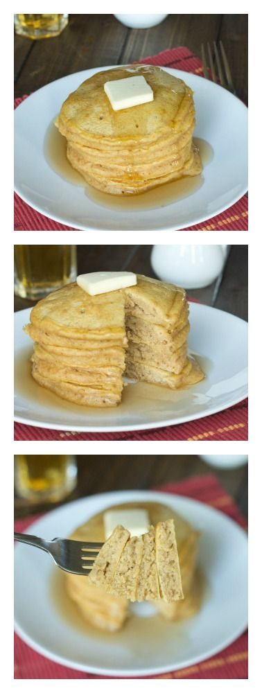 Pumpkin Pancakes - Fluffy pancakes with nutty brown butter and pumpkin ...