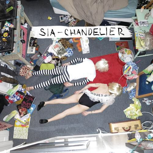 I'm listening to Chandelier by Sia on Pandora