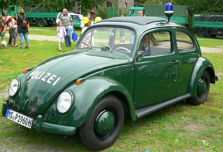 VW Käfer Polizei von Dirk Lambeck