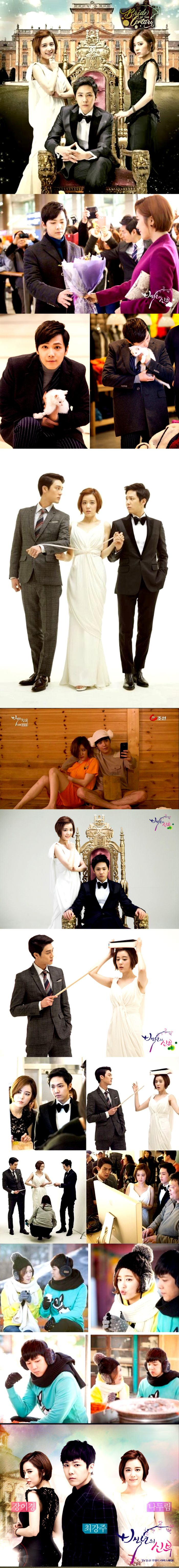 Bride of the Century (백년의 신부) Kdrama 2014 - 16 episodes - Yang Jin-Sung / Lee Hong-Ki / Sung Hyuk / Jang Ah-Young