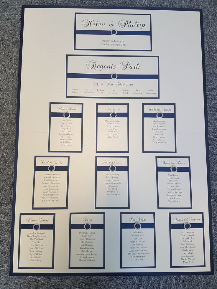 175 Best Images About Table Plans On Pinterest