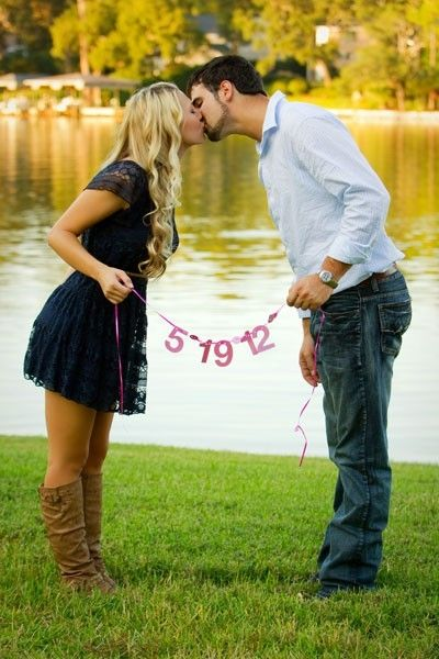 yea i guess this makes for cute engagement pictures but what i really like is her outfit (: