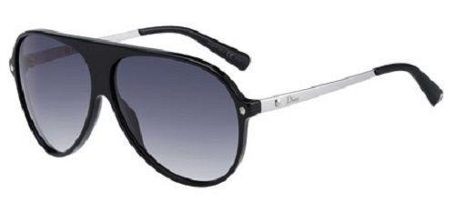 DIOR Homme Sunglasses Tahuata Black PLastic Aviator Unisex 62-11-135 ITALY MADE #ChristianDior #Aviator