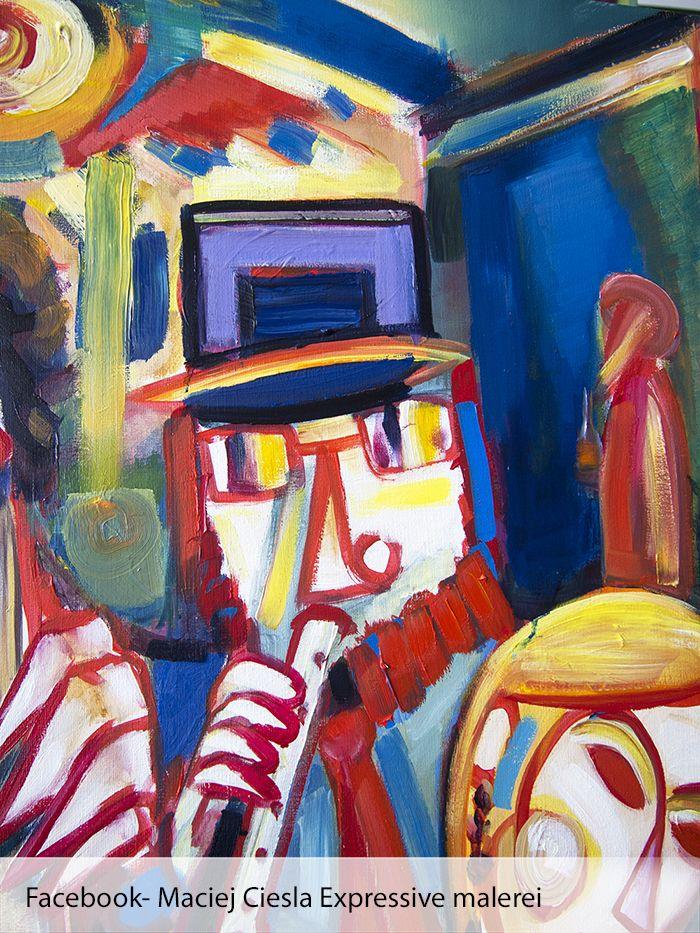 ein olgemalde von einem europaischen kunstler zeitgenossische kunst moderne maciej ciesla der art oil painting bilder xxl jesus in modernen