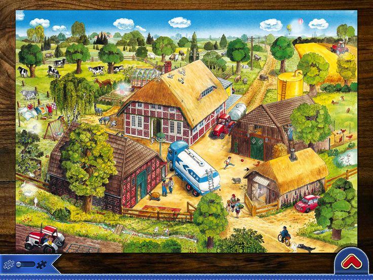 Praatplaat boerderij voor kleuters