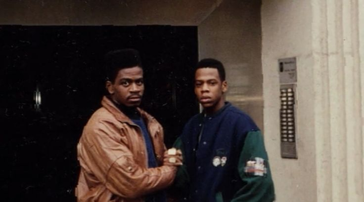 Jay-Z and Jaz-O in London during their trip to the English capital, where they were treated as royalty as Jaz recorded his debut album Word to the Jaz, in 1989.