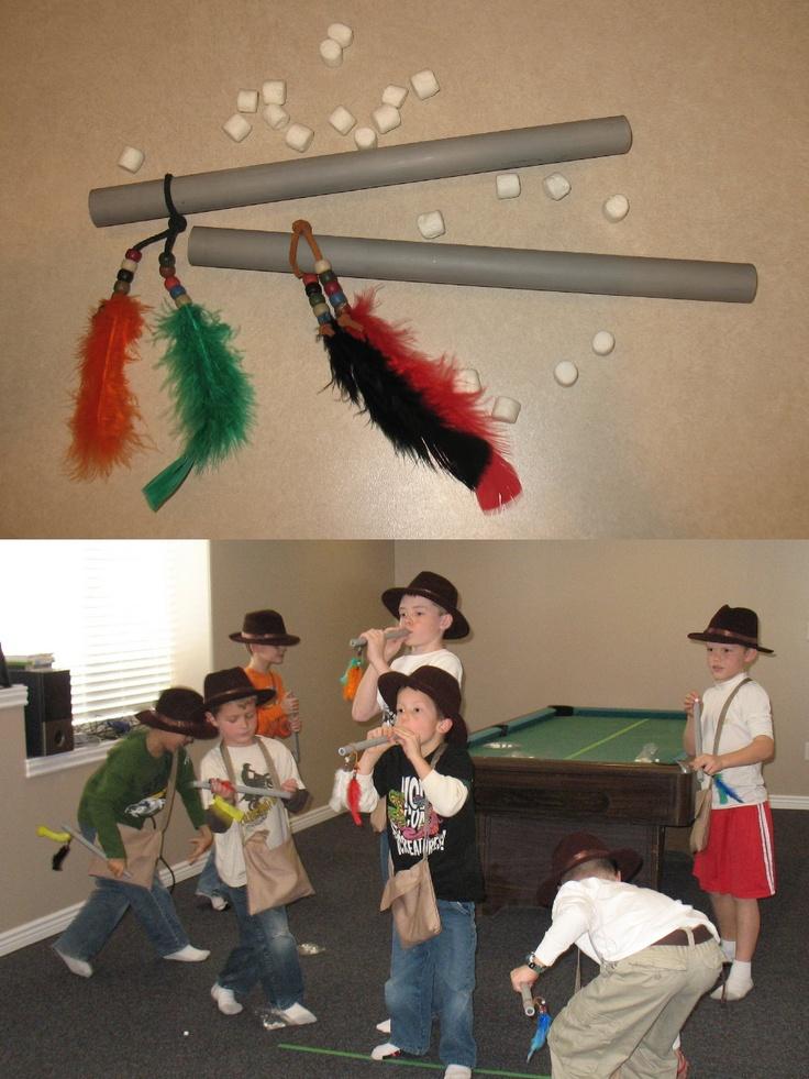 Four Little Monkeys Indiana Jones Birthday Party