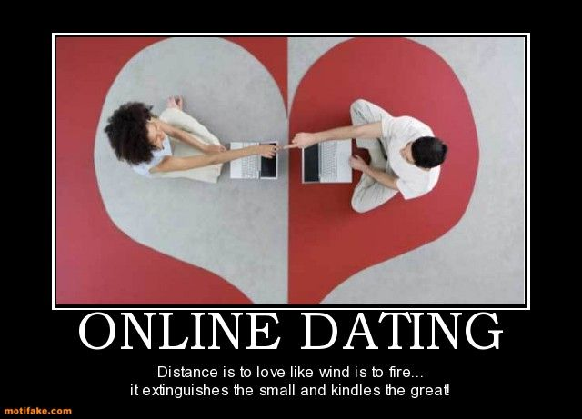 What percentage of individuals meet on online dating sites