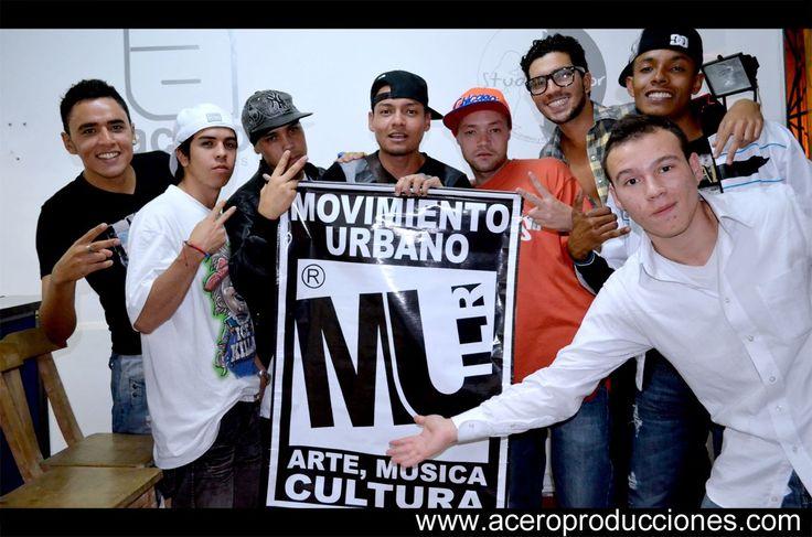 La buena energía se comparte desde Movimiento Urbano Colombia.