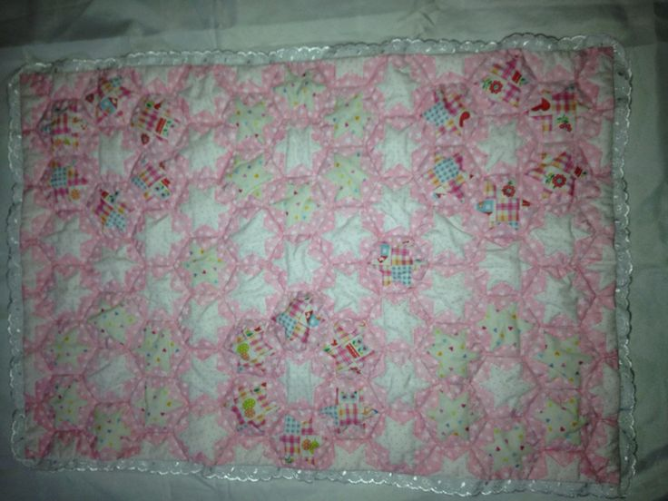 Hand made Japanese patchwork quilt