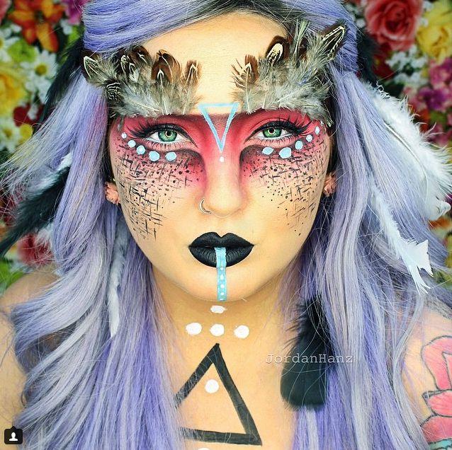MIRA: Las transformaciones con maquillaje de esta artista son ESPELUZNANTES pero…