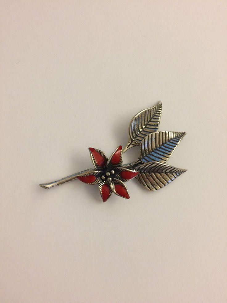 Stella di Natale Argento 800/1000 - Christmas star silver 800/1000 di Meljewelry1908 su Etsy