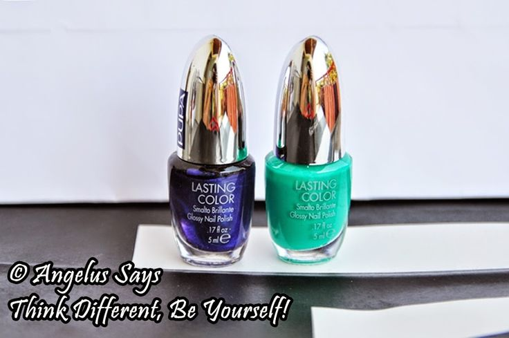 Angelus Says: Think Different, Be Yourself!: GLI SMALTI. PUPA - LASTING COLOR & LASTING COLOR G...