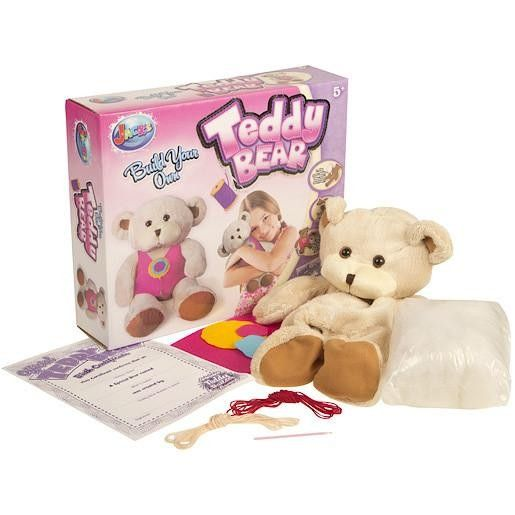 Build Your Own Teddy Bear With This Fantastic Craft Kit