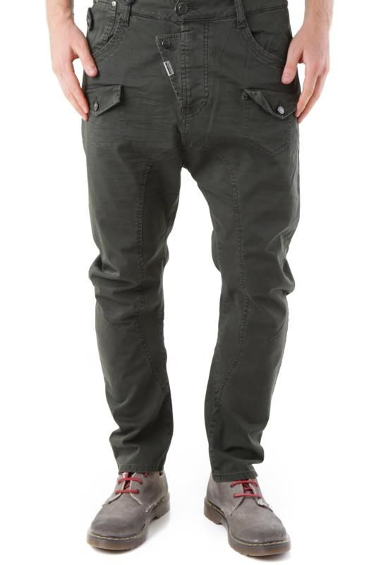 Pantaloni Uomo Absolut Joy (VI-P2470) colore Verde Scuro