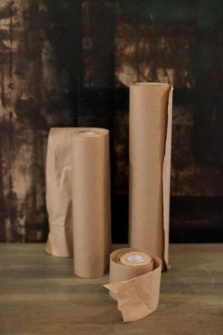 """2-1/2""""W Kraft Butcher Paper Roll (16 Yards) Perfect For Table Numbers and Gift Tags."""