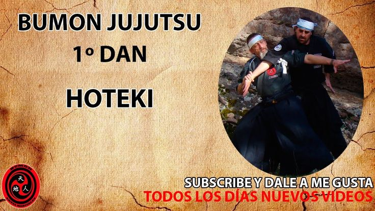1 dan cinturón negro jujutsu kata: Hoteki | ninpo | taijutsu | Bumon