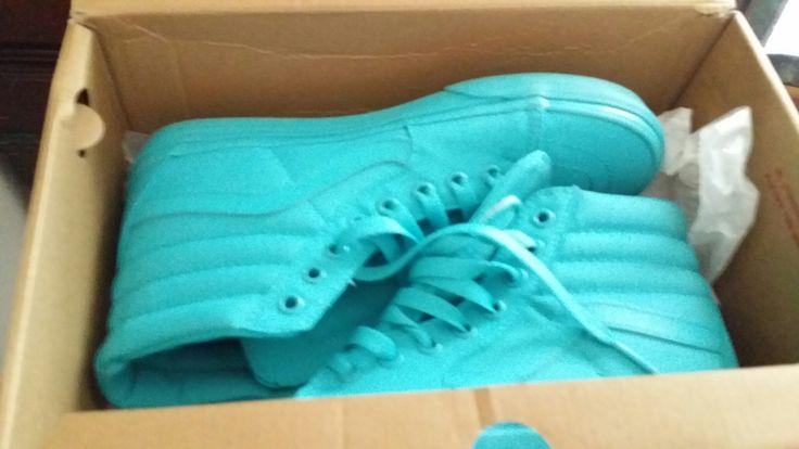 Vans VANS VANS sky blue sneakers