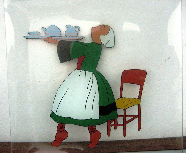Assiette Bécassine