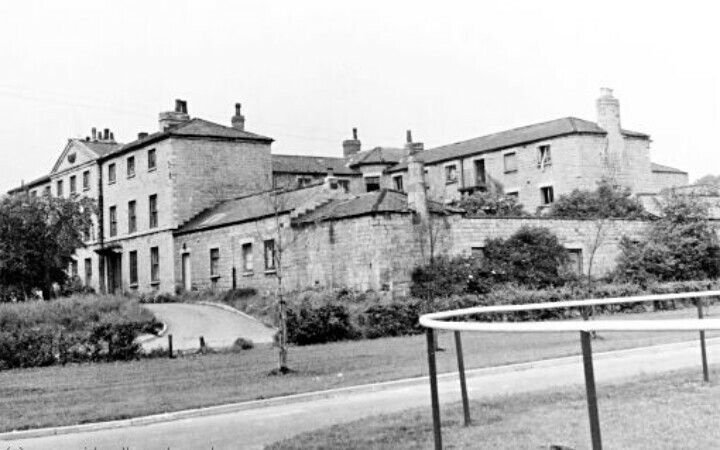Union Workhouse off Eastgate. The original workhouse was on Bedlam Square off Castle Hill, but woefully small for the expanding town. Records show inmates from all over Yorkshire, Lincs and the East Midlands, and even Holland and Spain, many retired small business owners or former agricultural workers who were left behind as the town grew and industry established. The new workhouse homed around 600, even so seperate children's asylums were later built on Cheapside