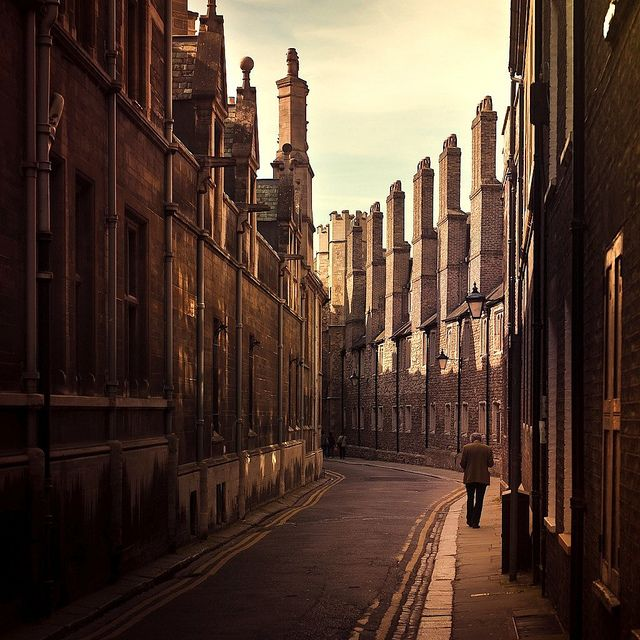 Cambridge, England. I used to live here. Can't believe I didn't appreciate it.