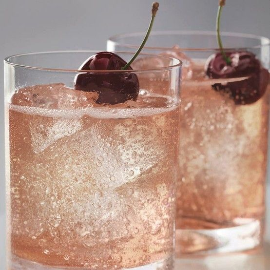 Grey Goose Cherry Noir Vodka. This little drink is made with the Cherry Noir Vodka, Lemon-Lime Soda, and a splash if Cranberry Juice. Could use a pitcher of these right about now!
