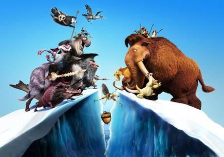 Arriva l'Era Glaciale 4, cartoon alla riscossa - yeah!