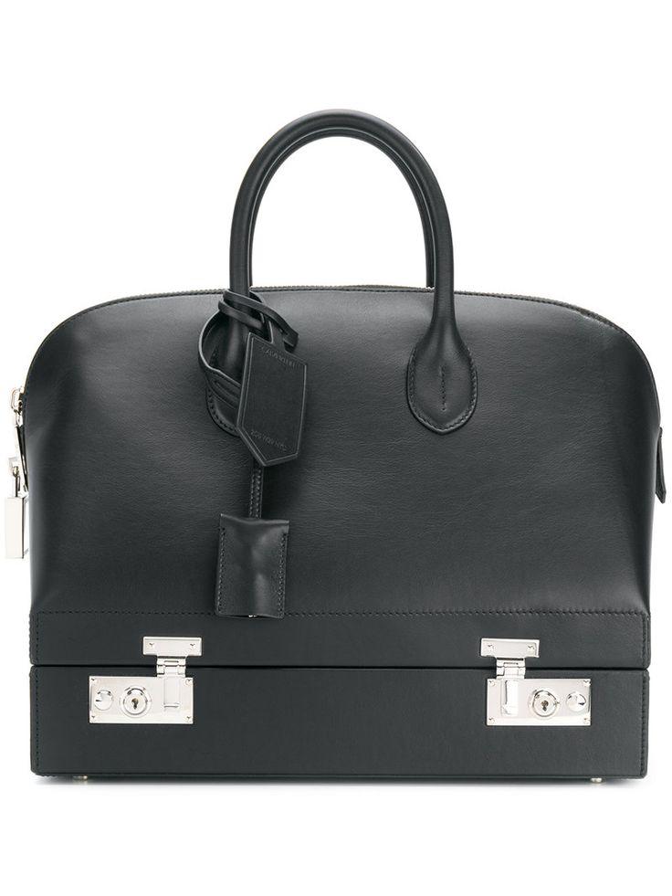 CALVIN KLEIN 205W39NYC CALVIN KLEIN 205W39NYC - BUGATTI SATCHEL . #calvinklein205w39nyc #bags #shoulder bags #hand bags #leather #satchel #lining #