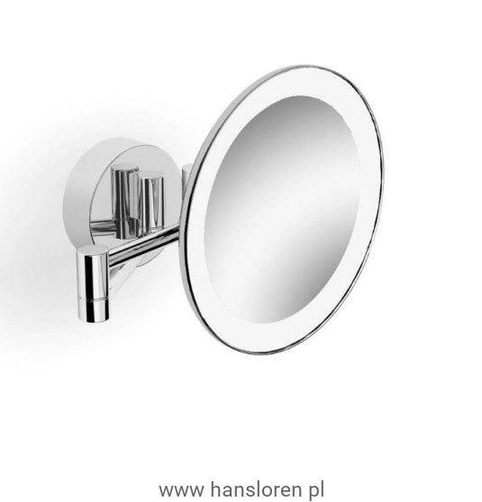 Stella lusterko kosmetyczne powiększajace podświetl LED ruchome ramię - 22.002  https://hansloren.pl/Lusterka-kosmetyczne