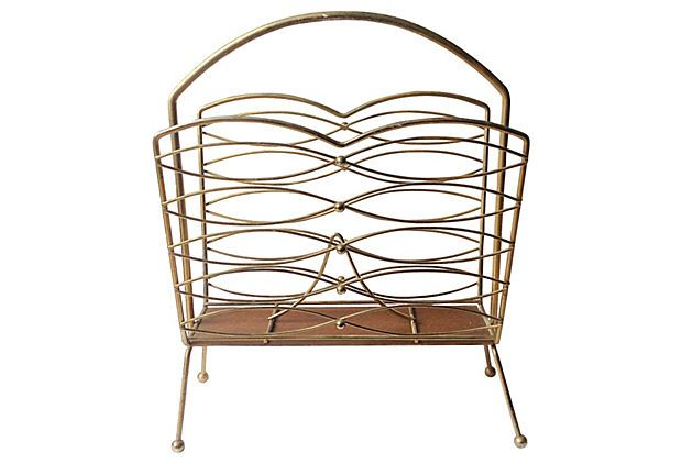 Midcentury Magazine Rack on OneKingsLane.com 125/225