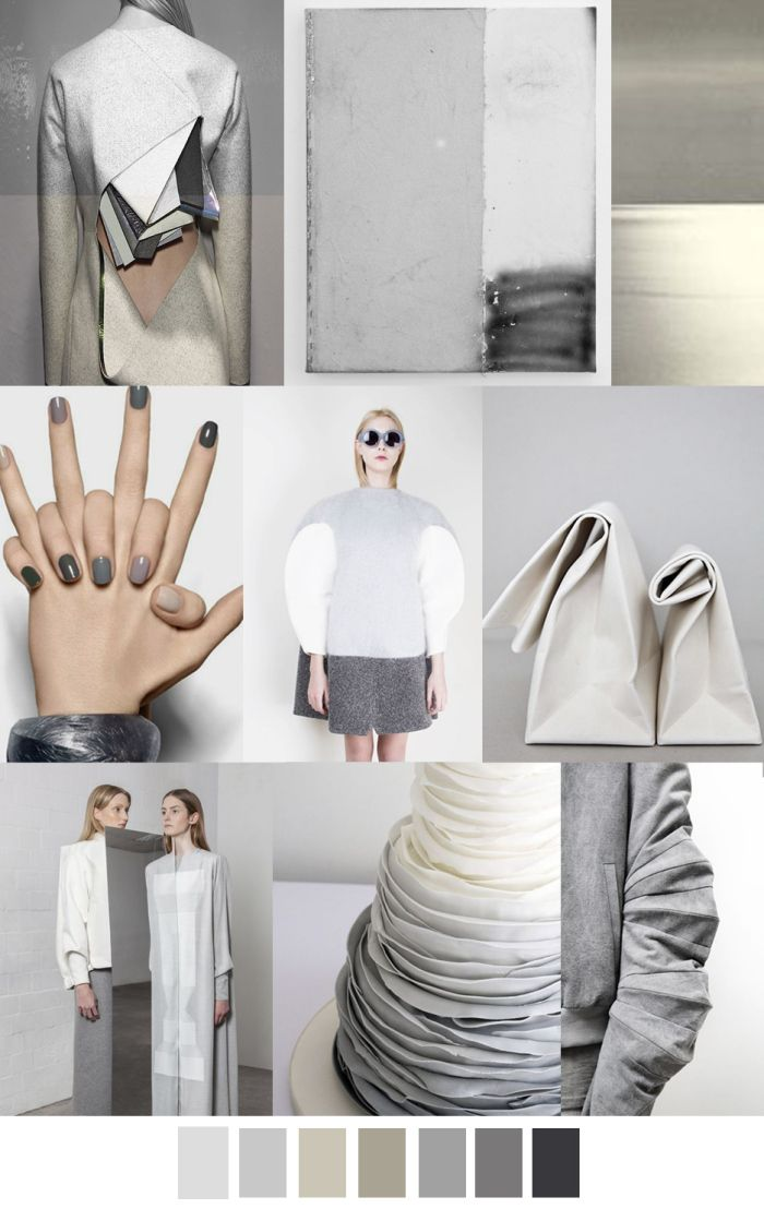 Grey Out Fall/Winter 2017 mood board
