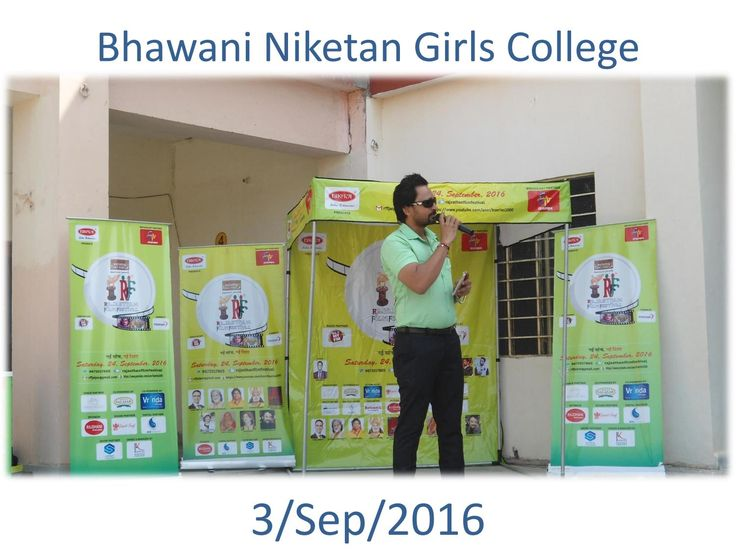 Bhawani Niketan College Activity