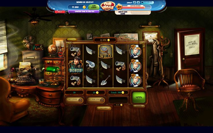 The Sherlock Files, great new slot from Our Vegas Slots, with great art from Betowers, Noelia Rivera, Irene Fenollar and María Torregrosa. https://apps.facebook.com/our-billion-slots