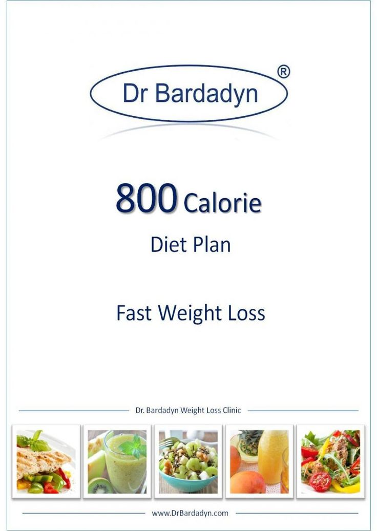 800 calorie diet plan - fast weight loss