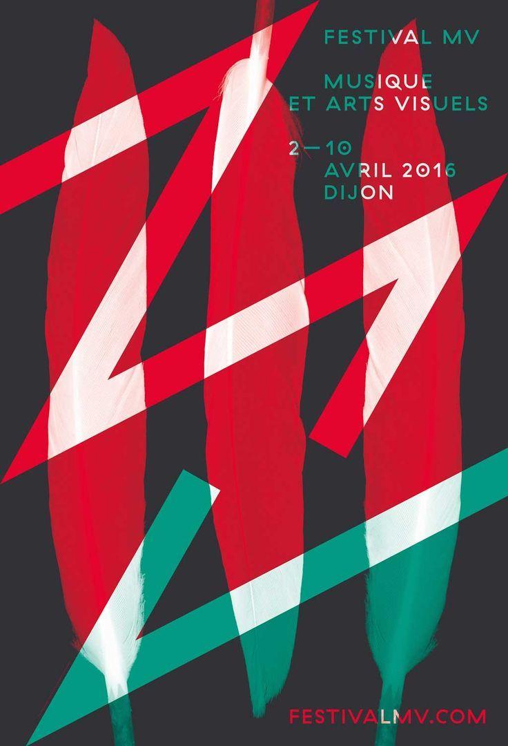 Poster design trends - Poster Affiche Festival De Musique Et Des Arts Visuels De Dijon 2016 By Design Postersdesign Trendseditorial