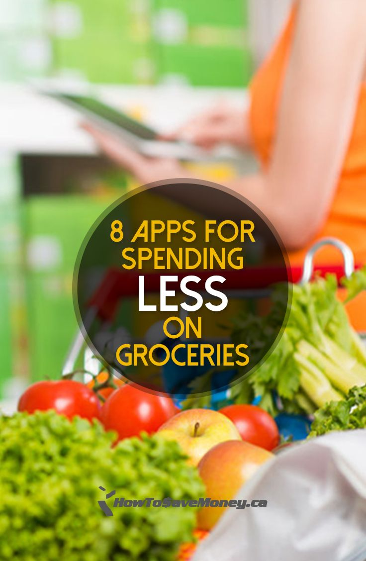 Easy (and effective) ways to spend less on groceries using these 8 apps.