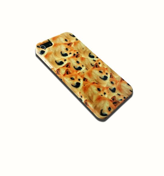 Shibe Doge All Over iPhone 4 4s, iPhone 5/5s, Iphone 5c Hard Case Cover #cellphonecase #customizedcase