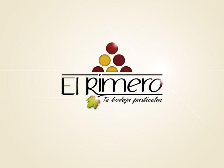 """Identidad corporativa. """"El Rimero. Tu bodega particular"""""""