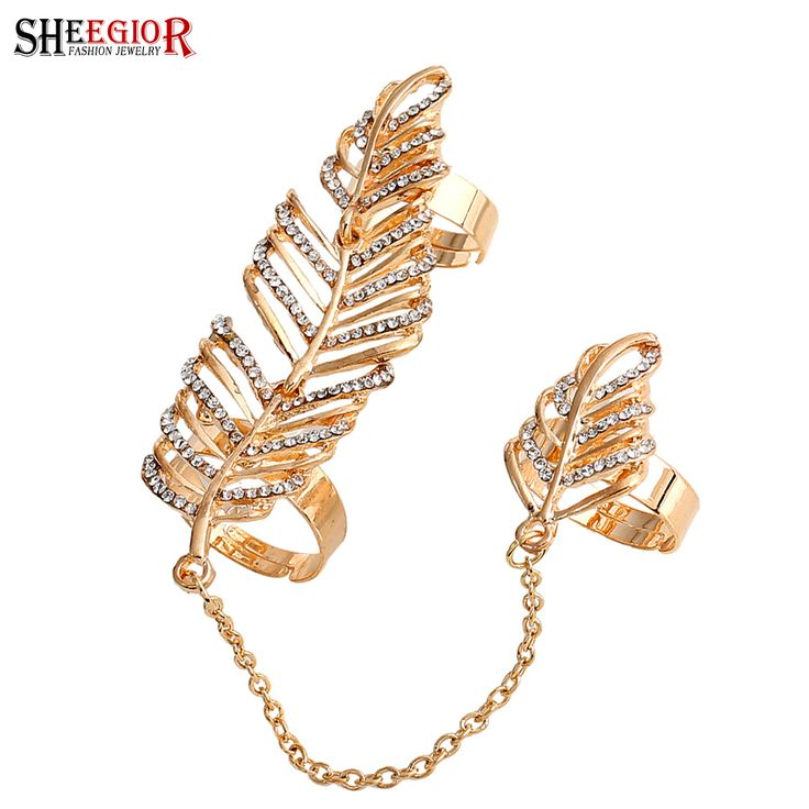 Cheap ring bracelet chain, Buy Quality chain men directly from China chain jokes Suppliers: Punk Finger Ring Armour Knuckle Ring Linked Rings For Women Gold Silver Color Rhinestone Rings Bijoux For Women/lady Party Gift