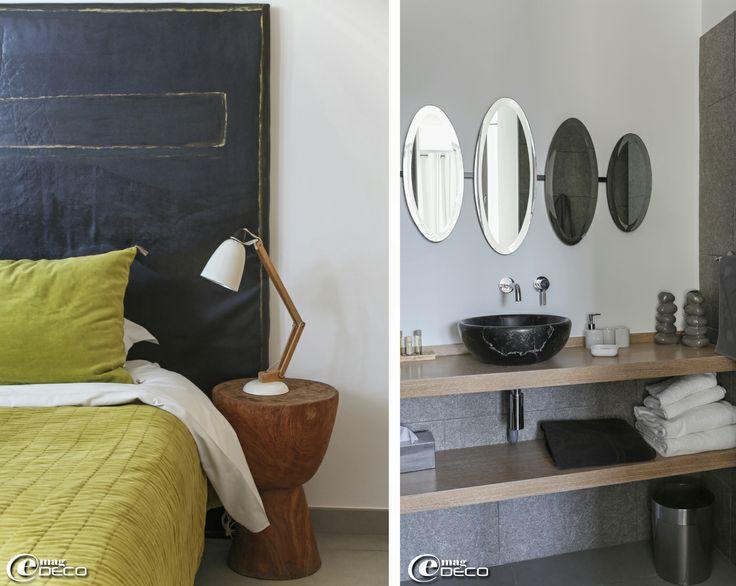 17 meilleures id es propos de t te de lit en miroir sur pinterest chambres grises meubles - Tete de lit houssable ...