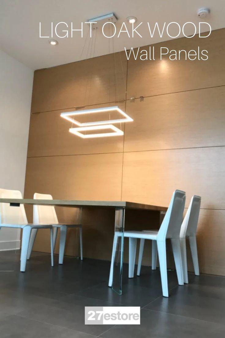 Light Oak Wood Wall Panels In 2020 Wood Panel Walls Cheap Home Decor Light Oak