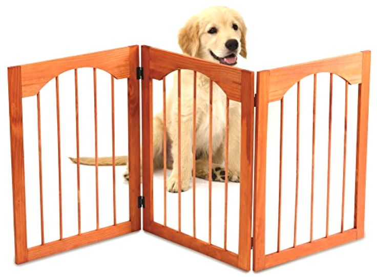Kleeger Wooden Pet Gate Foldable and Freestanding Indoor Home Use Office Use #Kleeger