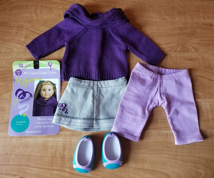 American Girl doll Mckenna School Outfit plus #5 card | Dolls & Bears, Dolls, By Brand, Company, Character | eBay!
