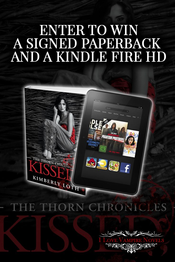 Win a Kindle Fire or Kindle Paperwhite & Signed Paperbacks from Author Kimberly Loth