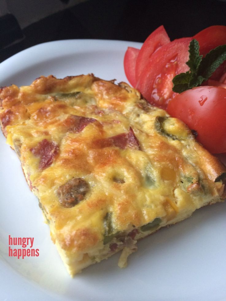 This was THE MOST delicious frittata I've ever made - ever. The key ingredient being the cottage cheese, which thickens it up. You don't have to use my add ins, you can sub in any veggie, mushroom, cheese, seasoning etc.