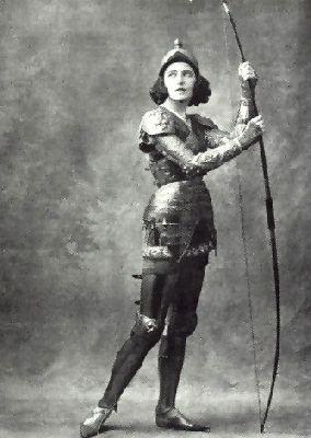 Russian ballerina Ida Rubinstein circa 1913