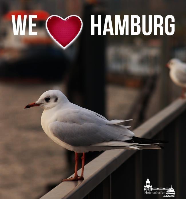 WE LOVE HAMBURG!    www.facebook.com/Heimathafen.Aktuell.Hamburg