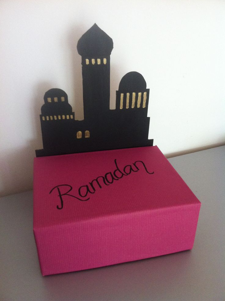 Ramadan gift box idea ramadan crafts pinterest good for Craft box for toddlers