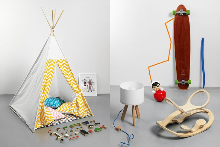 How to decorate a children's playroom using only Russian toys and items